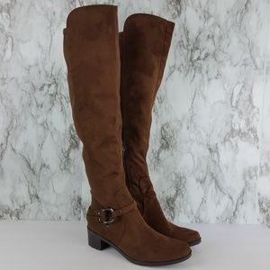 Marc Fisher Brown Knee High Boots 8 9F89